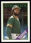 1988 Topps #726  Alfredo Griffin  Front Thumbnail