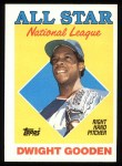 1988 Topps #405   -  Dwight Gooden All-Star Front Thumbnail