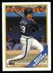 1988 Topps #306  Billy Hatcher  Front Thumbnail