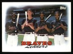 1988 Topps #549   Braves Leaders Front Thumbnail