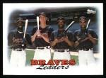1988 Topps #549   Braves Leaders Front Thumbnail