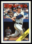 1988 Topps #791  Ted Simmons  Front Thumbnail
