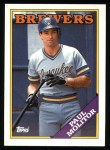 1988 Topps #465  Paul Molitor  Front Thumbnail