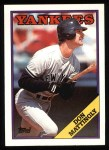1988 Topps #300  Don Mattingly  Front Thumbnail