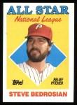 1988 Topps #407   -  Steve Bedrosian All-Star Front Thumbnail