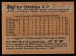 1988 Topps #227  Ed Correa  Back Thumbnail