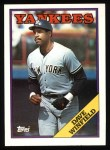 1988 Topps #510  Dave Winfield  Front Thumbnail