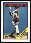 1988 Topps #611  Tommy John  Front Thumbnail