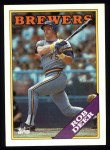 1988 Topps #33  Rob Deer  Front Thumbnail