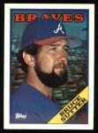 1988 Topps #155  Bruce Sutter  Front Thumbnail