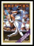 1988 Topps #769  Cecil Cooper  Front Thumbnail