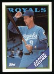 1988 Topps #477  Jamie Quirk  Front Thumbnail