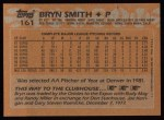 1988 Topps #161  Bryn Smith  Back Thumbnail