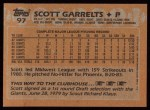 1988 Topps #97  Scott Garrelts  Back Thumbnail