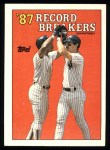 1988 Topps #2   -  Don Mattingly Record Breaker Front Thumbnail