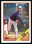 1988 Topps #54  Jim Clancy  Front Thumbnail