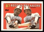 1988 Topps #4   -  Eddie Murray Record Breaker Front Thumbnail