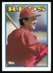 1988 Topps #422  Dave Concepcion  Front Thumbnail