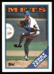 1988 Topps #457  Terry Leach  Front Thumbnail