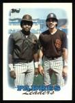 1988 Topps #699   -  Benito Santiago / Tony Gwynn Padres Leaders Front Thumbnail