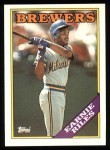 1988 Topps #88  Earnie Riles  Front Thumbnail