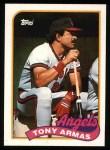 1989 Topps #332  Tony Armas  Front Thumbnail