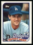 1989 Topps #198  Danny Heep  Front Thumbnail