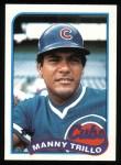 1989 Topps #66  Manny Trillo  Front Thumbnail