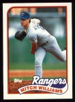 1989 Topps #411  Mitch Williams  Front Thumbnail