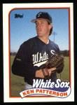 1989 Topps #434  Ken Patterson  Front Thumbnail