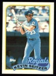1989 Topps #670  Kevin Seitzer  Front Thumbnail