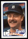 1989 Topps #777  Ted Power  Front Thumbnail