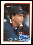 1989 Topps #46  Mark Portugal  Front Thumbnail