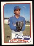 1989 Topps #683  Jose Cecena  Front Thumbnail