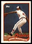 1989 Topps #469  Jose Bautista  Front Thumbnail