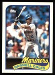 1989 Topps #738  Darnell Coles  Front Thumbnail