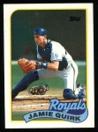 1989 Topps #702  Jamie Quirk  Front Thumbnail