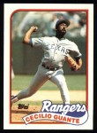 1989 Topps #766  Cecilio Guante  Front Thumbnail