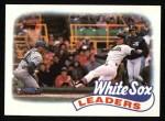 1989 Topps #21   -  Greg Walker White Sox Leaders Front Thumbnail