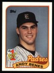1989 Topps #437  Andy Benes  Front Thumbnail