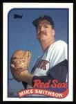 1989 Topps #377  Mike Smithson  Front Thumbnail