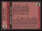 1989 Topps #564  Russ Nixon  Back Thumbnail