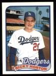 1989 Topps #232  Ricky Horton  Front Thumbnail