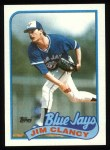1989 Topps #219  Jim Clancy  Front Thumbnail