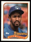 1989 Topps #731  Mike Young  Front Thumbnail
