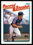 1989 Topps #7   -  Kevin McReynolds Record Breaker Front Thumbnail