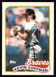 1989 Topps #488  Kevin Coffman  Front Thumbnail
