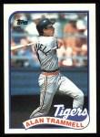 1989 Topps #770  Alan Trammell  Front Thumbnail