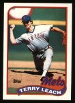 1989 Topps #207  Terry Leach  Front Thumbnail