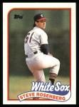 1989 Topps #616  Steve Rosenberg  Front Thumbnail